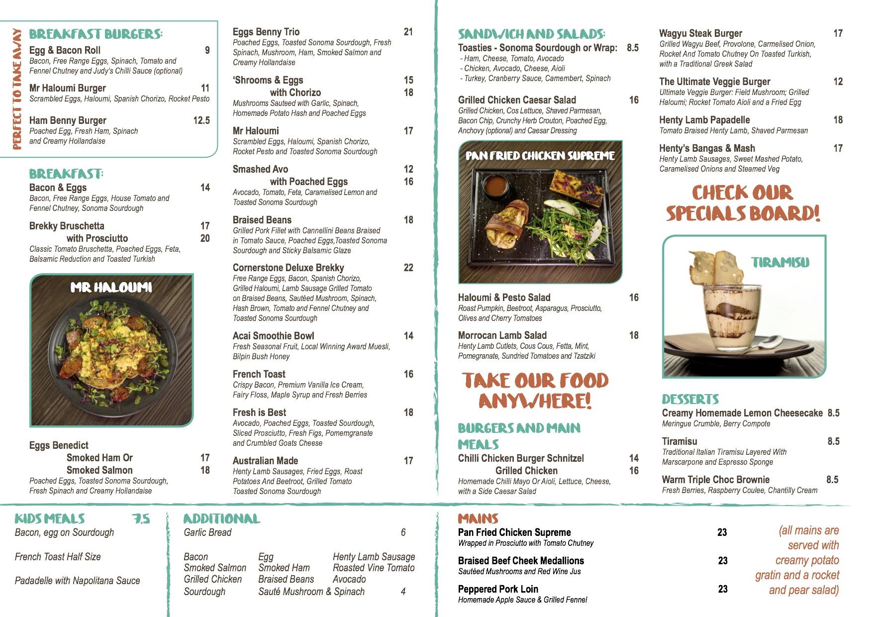 Chef S Cornerstone Cafe